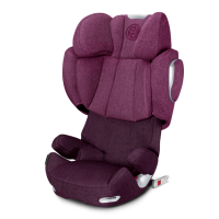 Автокресло Cybex Solution Q3-fix Plus Mystic Pink (розовый)