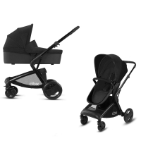 Коляска Cybex 2 в 1 Bimisi Pure Smoky Anthracite (черный)