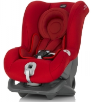 Автокресло Britax Roemer First Class plus Flame Red Trendline (красный)