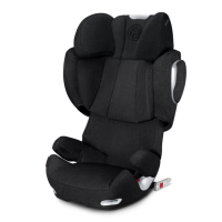 Автокресло Cybex Solution Q3-fix Plus Stardust Black (черный)