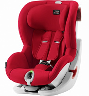 Автокресло Britax Roemer King II LS Fire Red Trendline (красный)