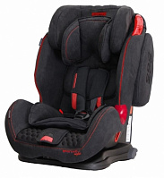 Автокресло Coletto Sportivo isofix black new 2018 (черный)