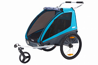 Велоприцеп Thule Coaster XT bike trailer+Stroll (синий)