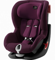 Автокресло Britax Roemer King II Black Series Burgundy Red (бордовый)